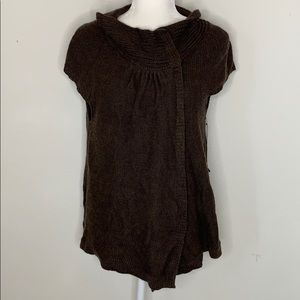 NWT BCBGMaxazria Poncho Style Wool Blend Cardigan